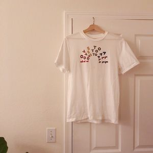 "Madewell ""Love to All"" T-shirt"